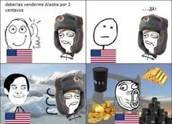 Enlace a La historia de Alaska