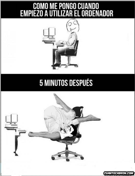 escritorio,ordenador,posicion,postura,silla