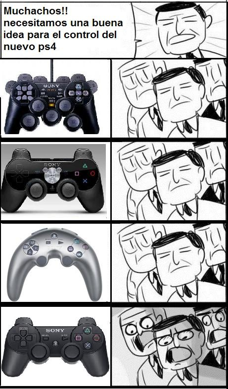 Otros - Playstation, siempre los mismos mandos