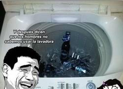Enlace a Y después dicen que no lavamos nada