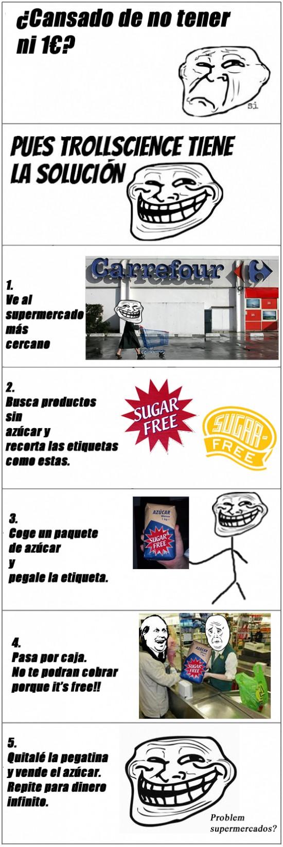 Trollface - Sugar free