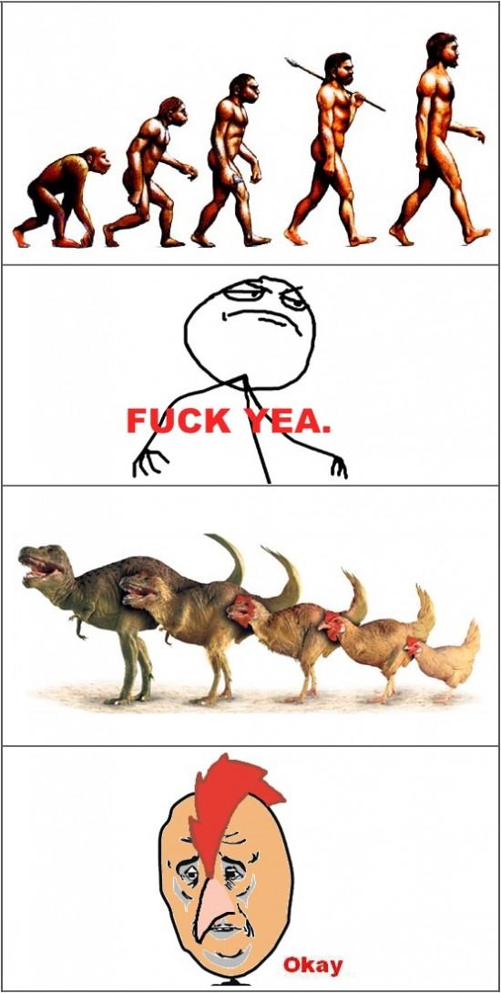 Okay - La evolución no favorece a todos