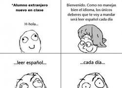 Enlace a Deberes: leer español