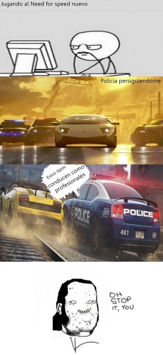 Otros - Halagos en Need for speed