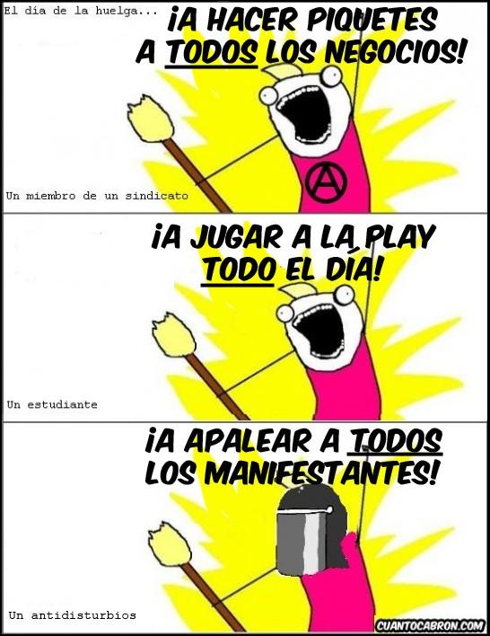 all the things,estudiante,huelga,madero,policía