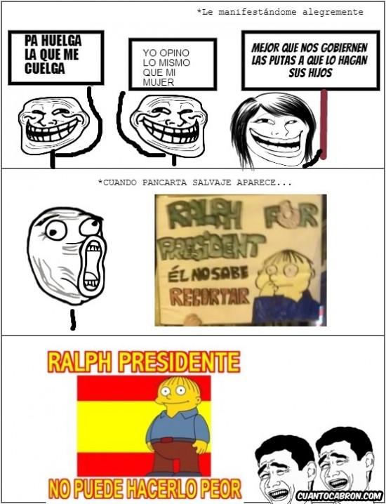 Otros - Ralph Wiggum for President