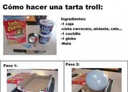 Enlace a Cómo preparar una tarta troll