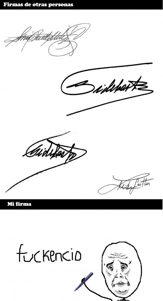 autógrafo,con clase,fail,firma,firmar,guay