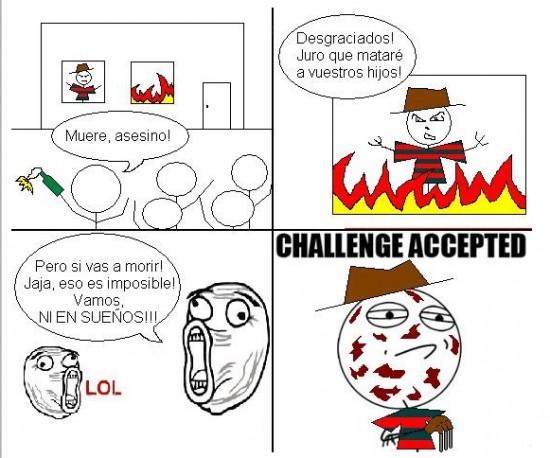 Challenge_accepted - Ni en sueños, ¿seguro?