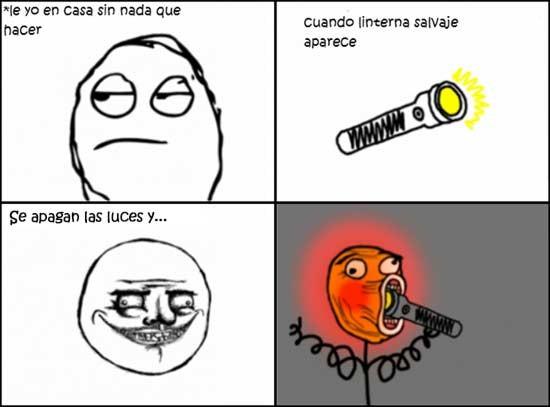Lol - Jugando con la linterna