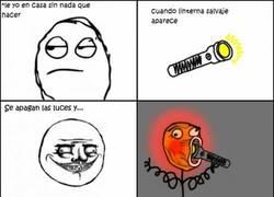 Enlace a Jugando con la linterna