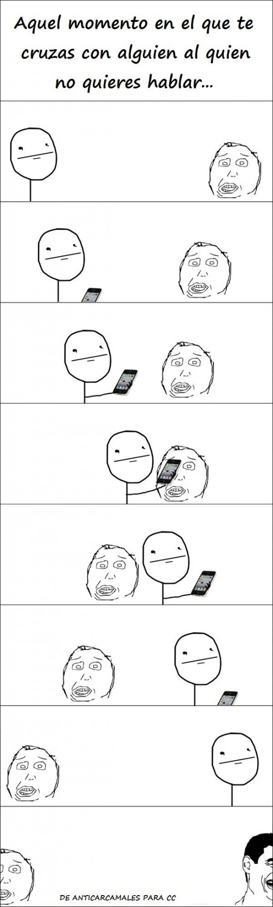 Yao - Momento embarazoso que disimulas con el móvil