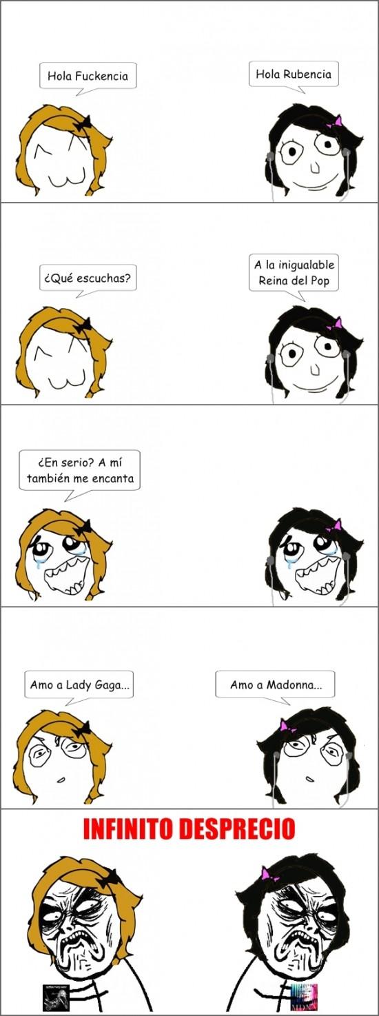 Infinito_desprecio - Madonna vs Lady Gaga