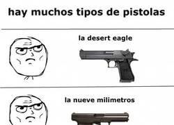 Enlace a Tipos de pistola