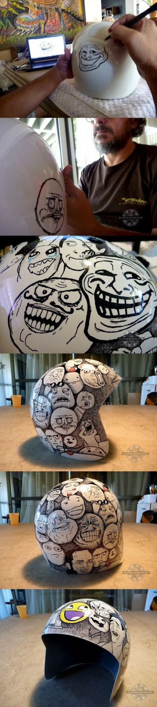 arte,casco,memes,moto,pintar