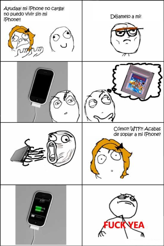 Fuck_yea - ¡Mi iPhone no carga!