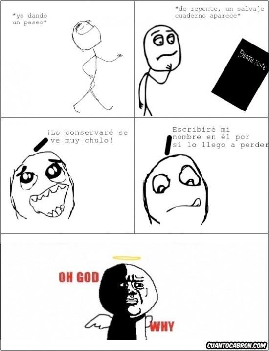 Oh_god_why - Death Note, no juegues con eso