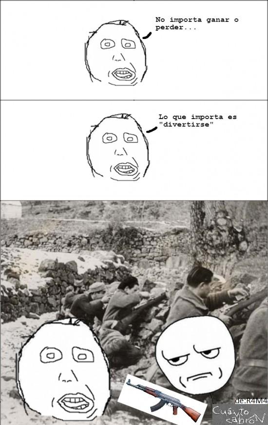 Kidding_me - En la guerra...