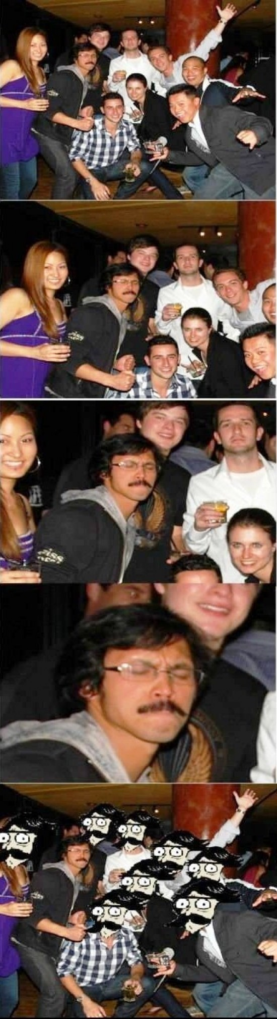 face swap,foto de grupo,stare dad de joven