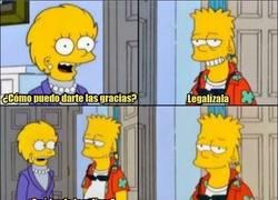Enlace a Bart tiene bien claro lo que quiere