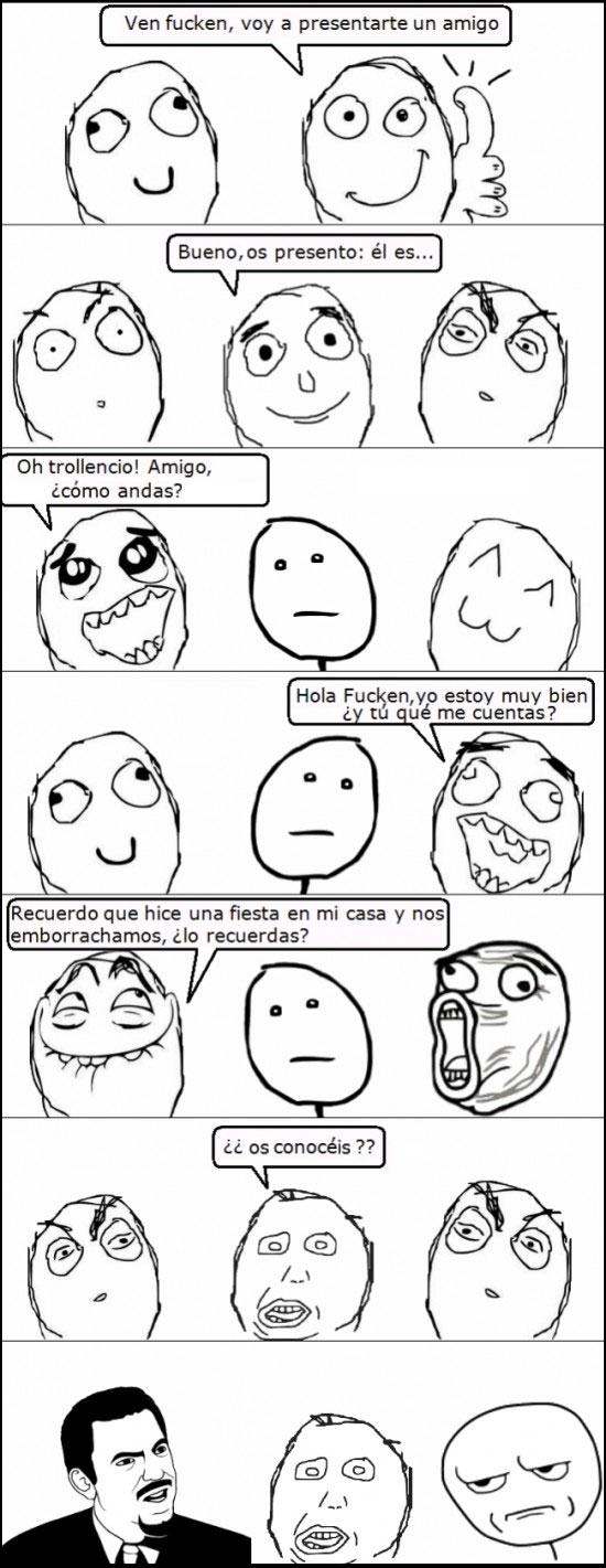 Mix - Cuando presentas a un amigo