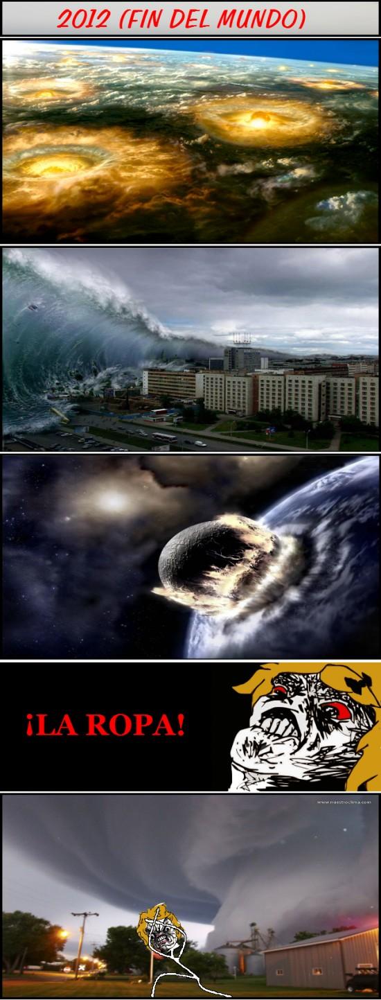 2012,fin del mundo,madre,meteoritos,ropa,tsunami