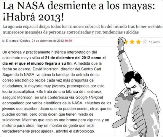 Freddie_mercury - Si lo dice la NASA...