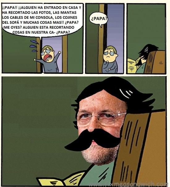 Otros - Oh, dios mío, papá, deja las tijeras