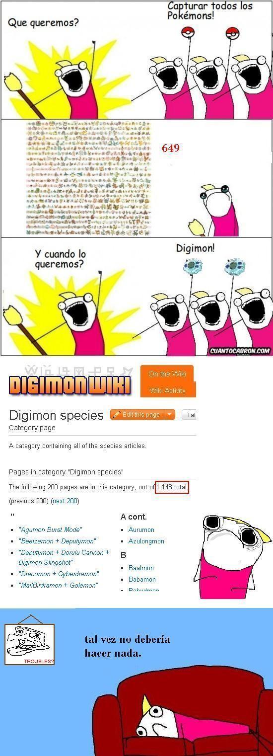 all the things,digimon,pokemon,sofa,triste,troubles,versión china de trollface