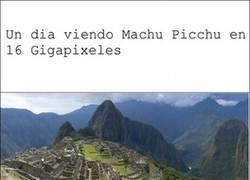 Enlace a Machu Picchu en 16 Gigapixeles