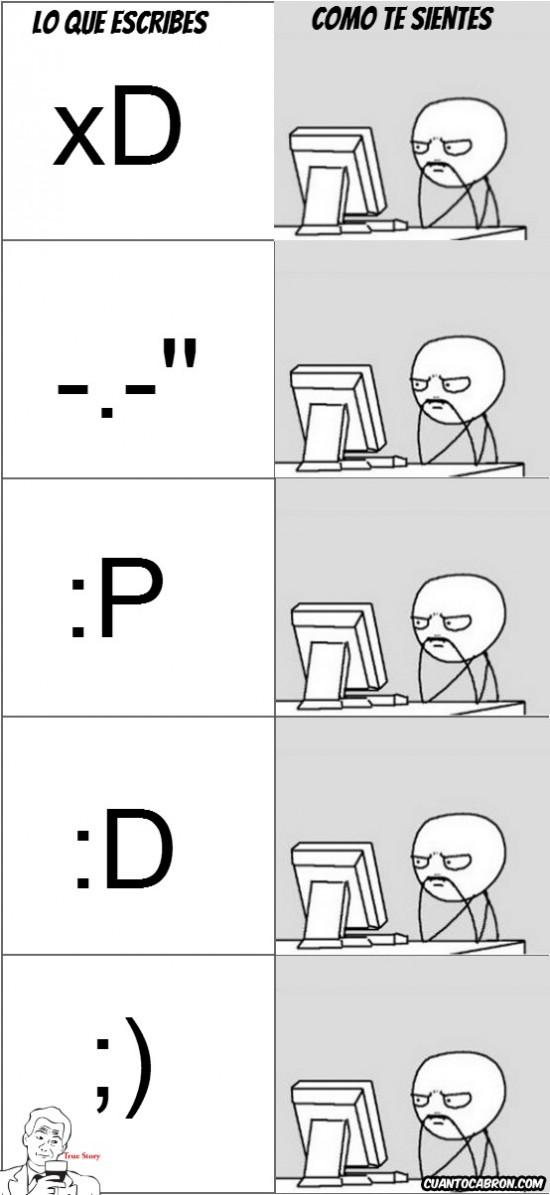 Computer_guy - Tus sentimientos respecto a tu escritura.