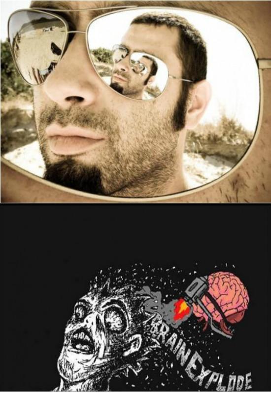 brain explode,cristal,foto,gafas de sol,inception,mindfuck,origen,wtf