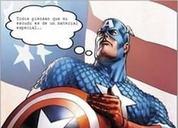 Enlace a El escudo del Capitán América