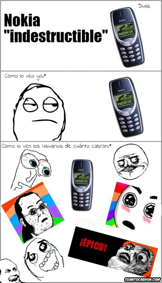 Mix - Nokia indestructible, ¿está sobrevalorado?