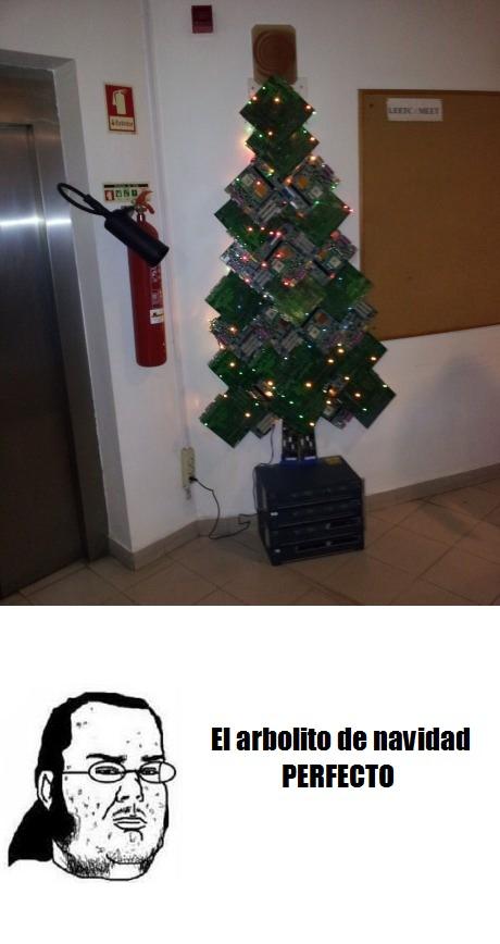 Friki - El arbolito de Navidad de todo friki