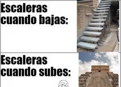 Enlace a Escaleras según las mires