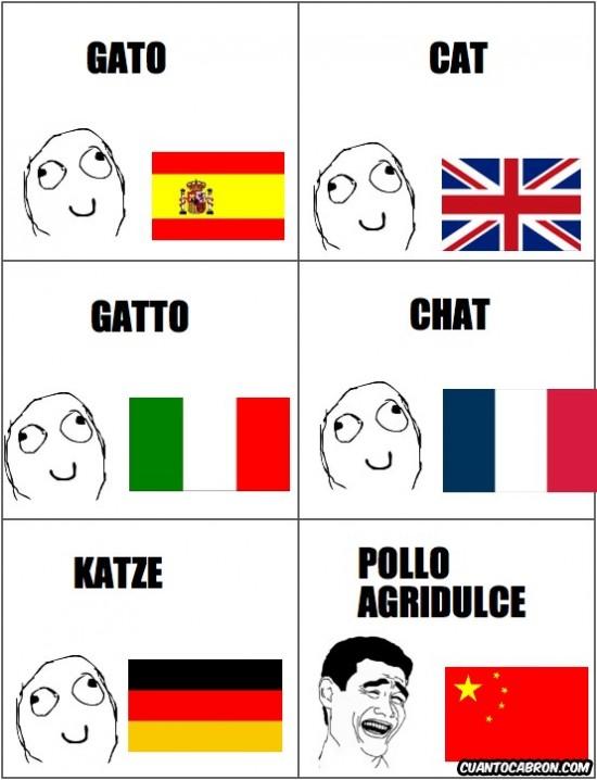 Yao - Sutiles diferencias lingüísticas