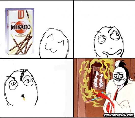 Me_gusta - Para esto sirven los Mikados