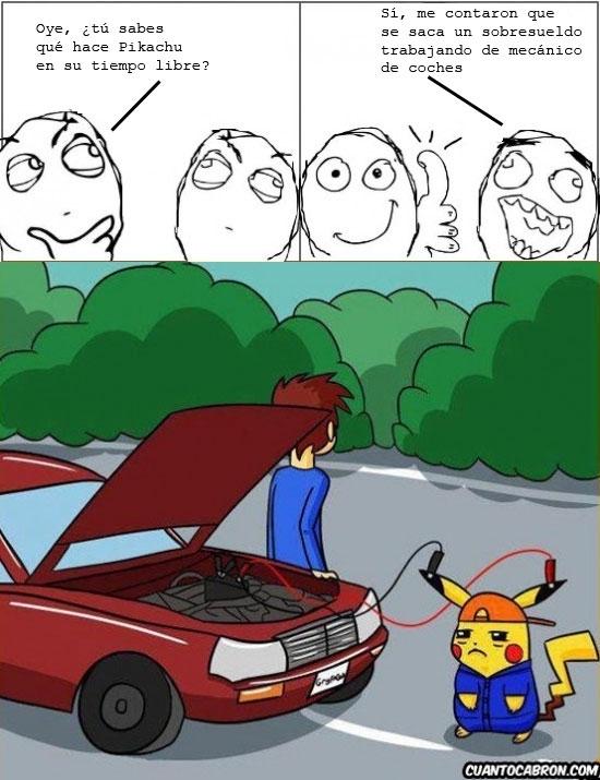 Otros - Pikachu y la crisis