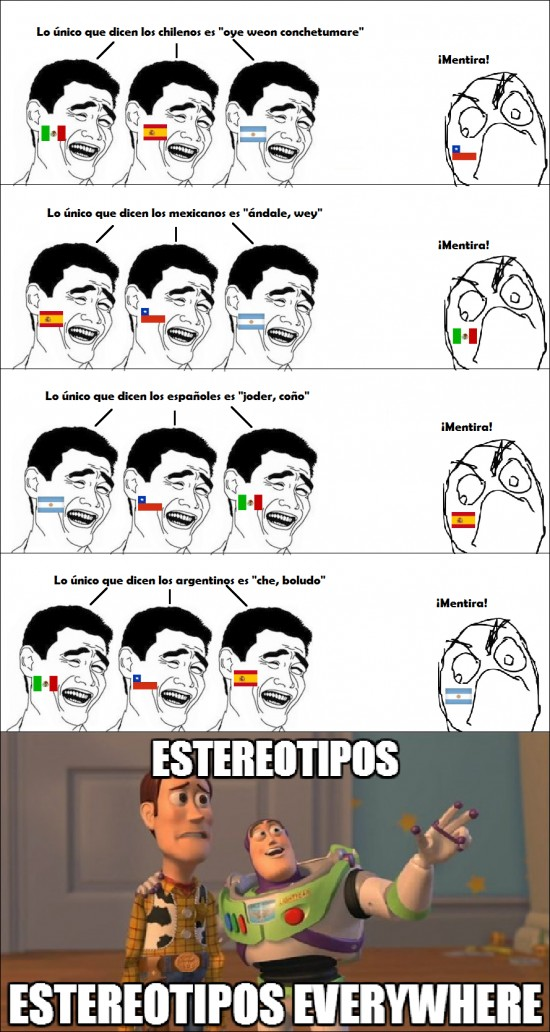 Otros - Estereotipos everywhere