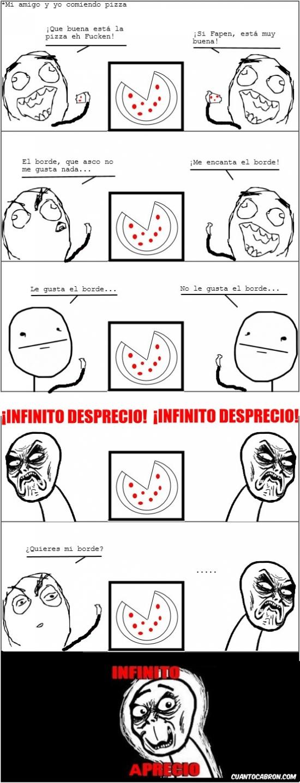 Infinito_desprecio - Los bordes de las pizzas