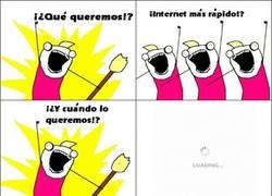 Enlace a Internet más rápido
