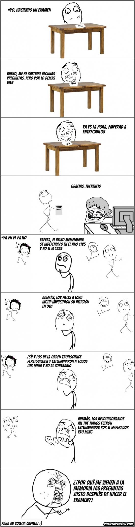 Y_u_no - Mierda de exámenes