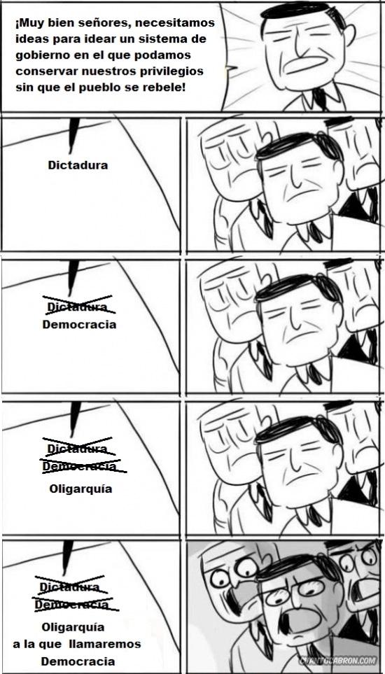 All right Gentlemen,democracia,oligarquia,Políticos