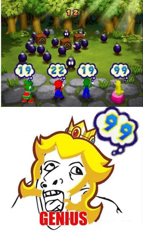 bomba,cuenta,DS,genius,juego,mario bros,mario party,número,princesa peach