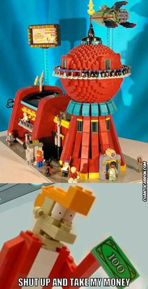 Fry - Lego Fry