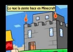 Enlace a Construcción en Minecraft