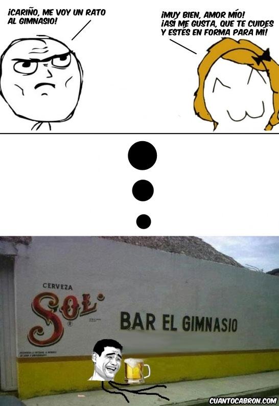 Bar,Cerveza,Deporte,Gimnasio,yaoming