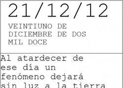 Enlace a 21/12/12