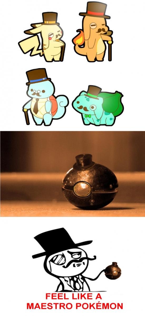 Feel_like_a_sir - Cazar pokémon like a sir